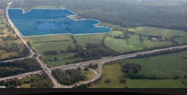 Grundstücke - Luftbild mit Umrandung