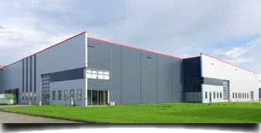 Unternehmen im Gewerbepark - Produktionshalle